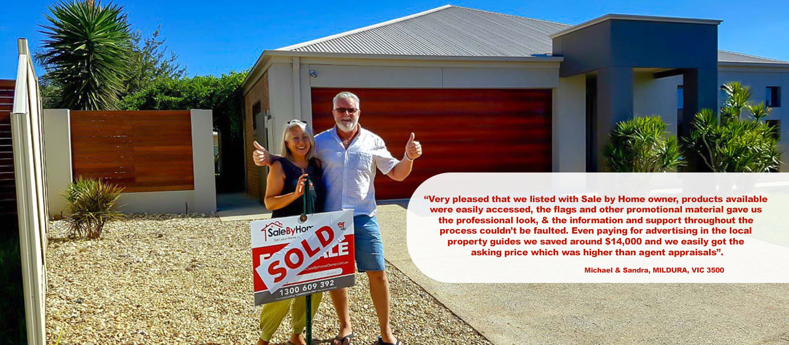 House For Sale By Owner testimonial