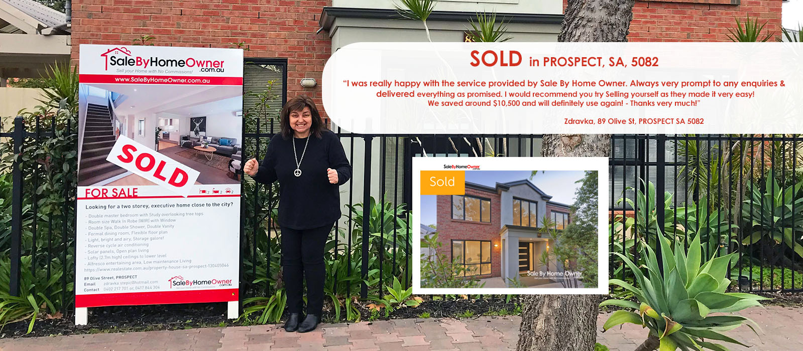 Sell your own Home: Another Happy customer from PROSPECT in South Australia