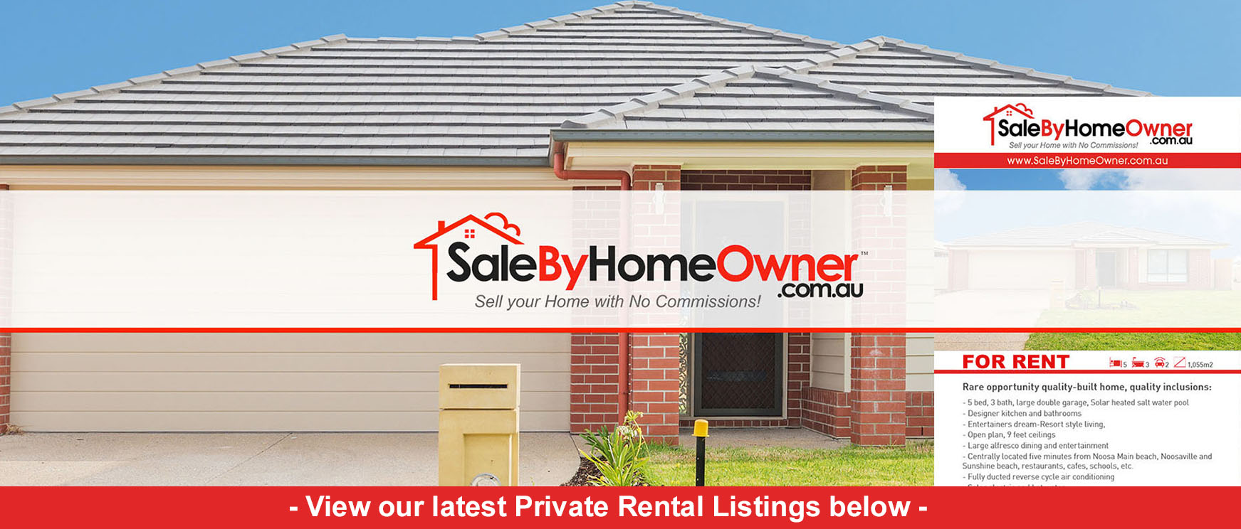 Private Rentals. Latest houses for private rent by owner