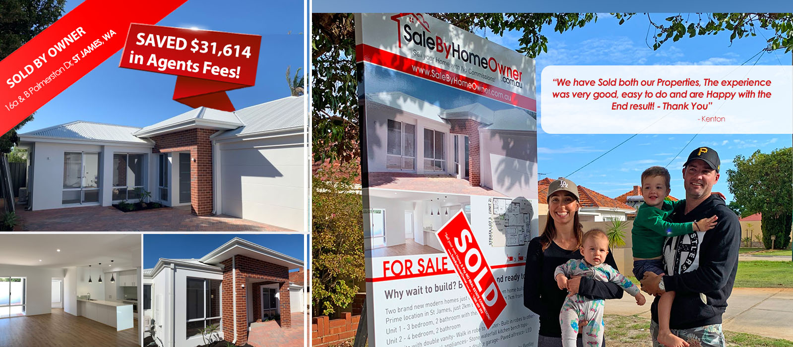 View some of the latest Properties Sold By Owners in Australia